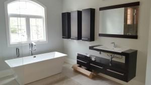 modern slipper tub