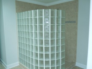 Glass BLock Shower Waterford