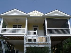 139 NW 13th Beach Cottage Curtis Skipper Plan