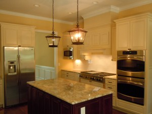 Recently Completed Kitchen in SOuthport NC