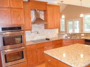 Recently Completed Kitchen by Curtis Skipper Construction
