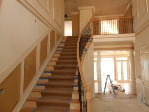 Staircase Curtis Skipper Custom Home