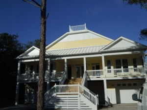 Country Club Drive Oak Island NC Original Home Plan